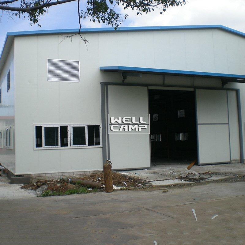 Pre-Engineered Two Floor Light Steel Structure Warehouse for Storage Steel  And Panel Workshop -W05