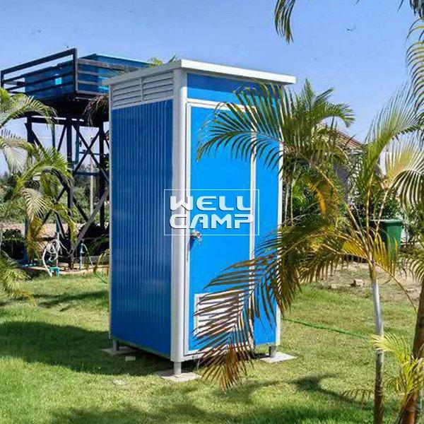 Mobile Outdoor Sandwich Panel Portable Toilet Container Cabin Modern Manufactured Mobile Toilet EPS Waterproof Sandwich Panel  -T01