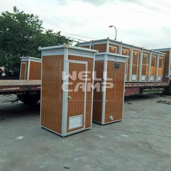 WELLCAMP EPS Wooden Color Movable Protable Toilet Container Communal Facilities -T02 Portable Toilet image31