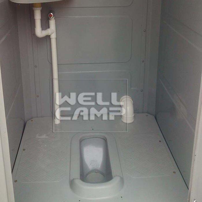 Outdoor HDPE Chemical Plastic Mobile Bathroom Portable Toilet Portable Toilet Companies The Best Toilet Set  -T03