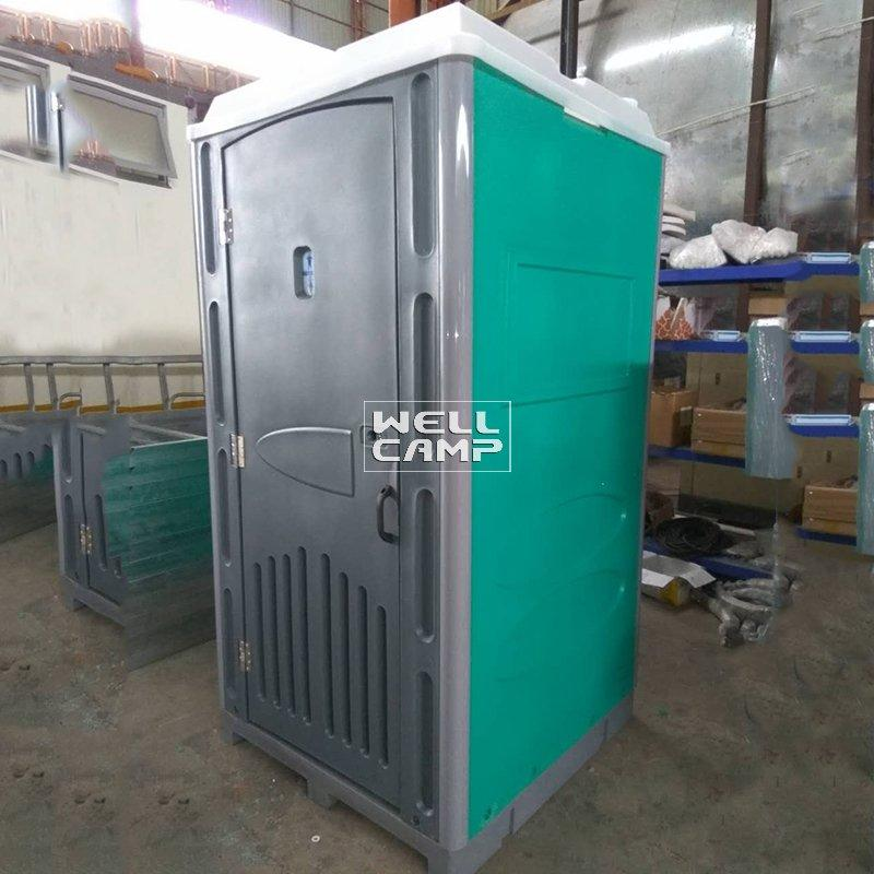 Rotomolding Plastic Material Mobile Protable Toilet Cabin for Bathroom Mobile toilets for sale price -T04