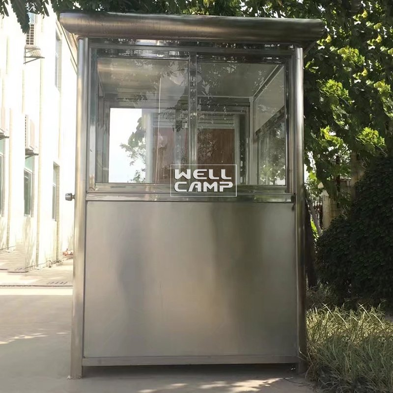 WELLCAMP 40ft Mobile Stainless Steel Shipping Prefab Container Security Room -R01 Security Room image26