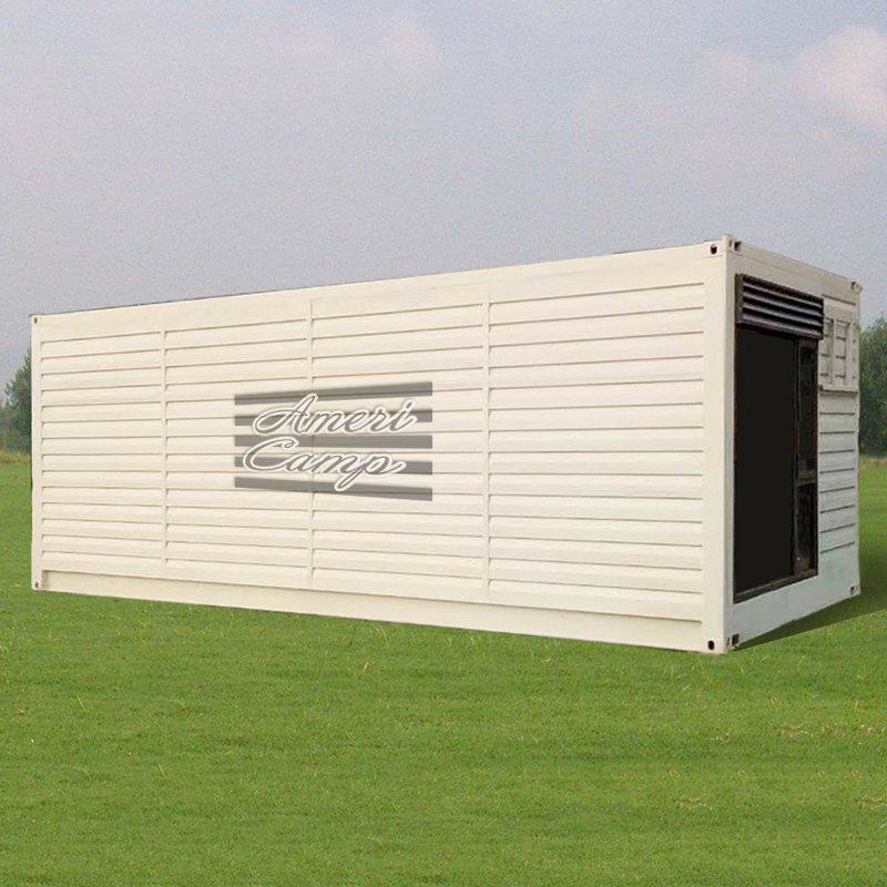 Shipping Container House For Sale Fireproof Sandwich Panel Modified Shipping Container Prefabricated Resort  -S01