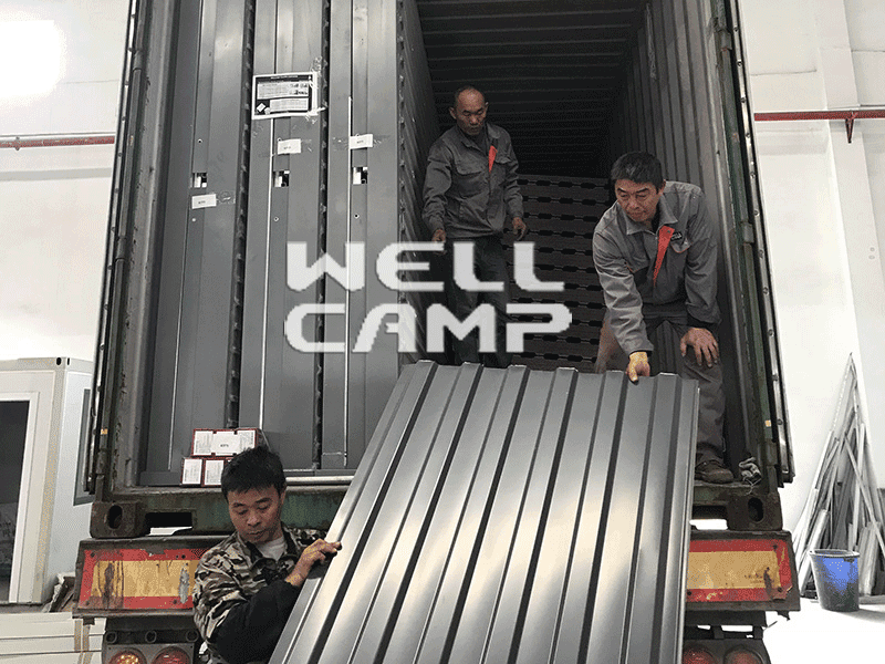 custom container homes family container villa prefabricated WELLCAMP