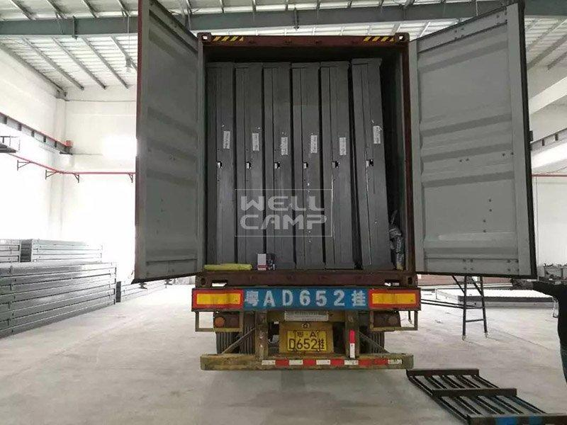 WELLCAMP Brand ieps foldable container house