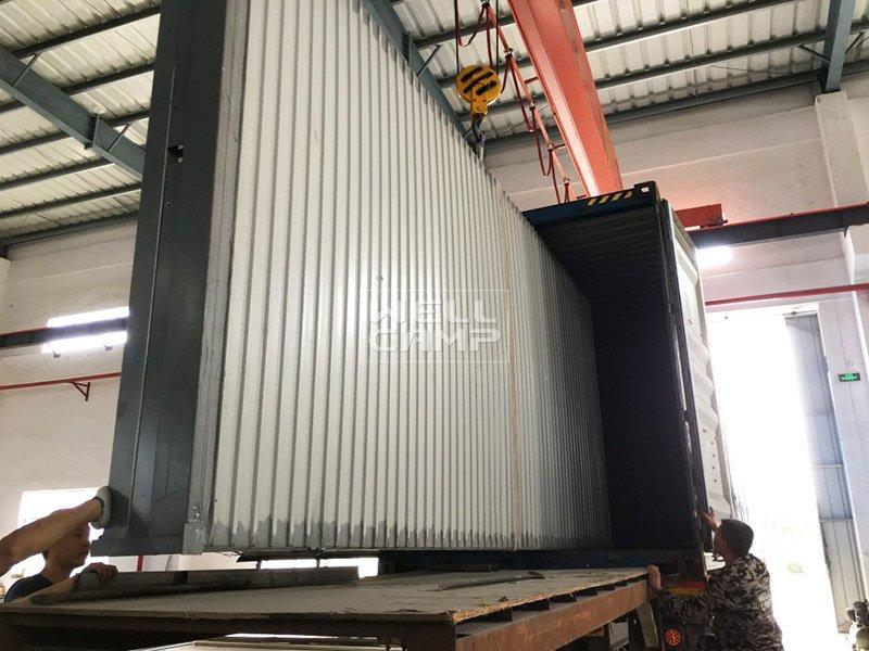 prefabricated container prefab foldable container WELLCAMP