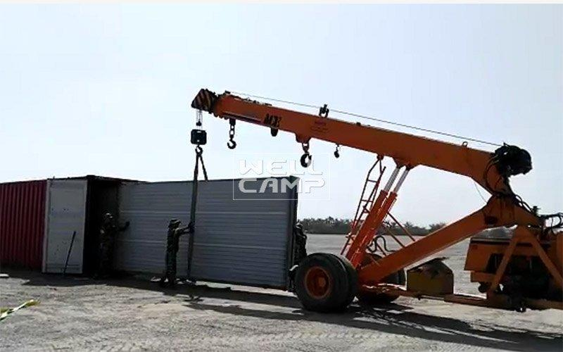 Hot foldable container house design WELLCAMP Brand