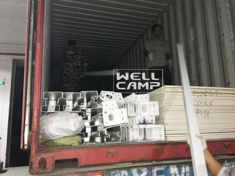 WELLCAMP Brand detachable prefabricated container house