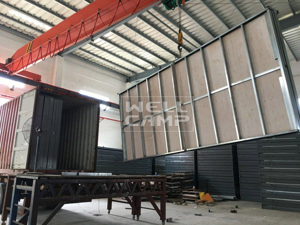 custom container homes portable design OEM container villa WELLCAMP