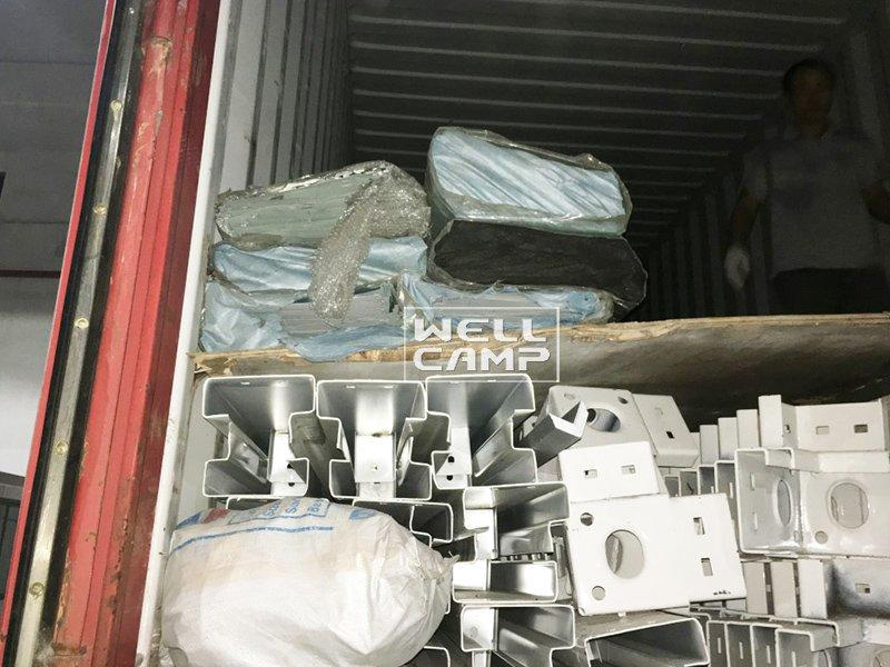 OEM flat pack containers garden prefab flat pack 20 ft container