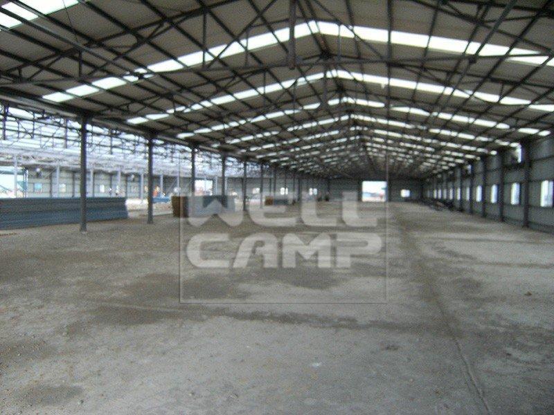 WELLCAMP two cow steel warehouse storage floor