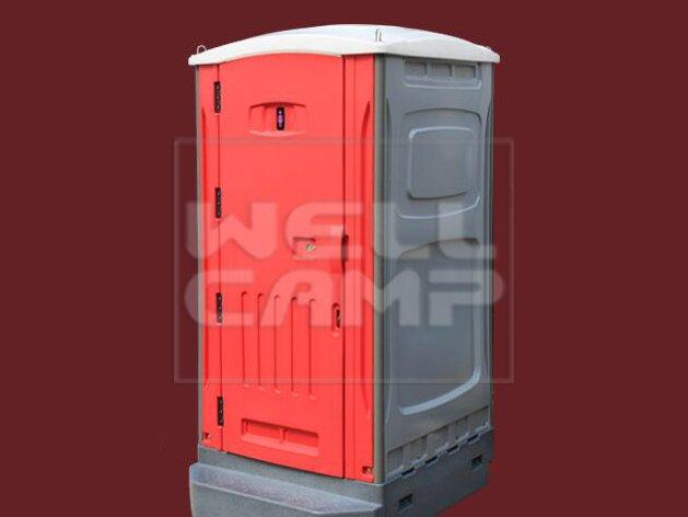 WELLCAMP rotomolding portable chemical toilet movable panel