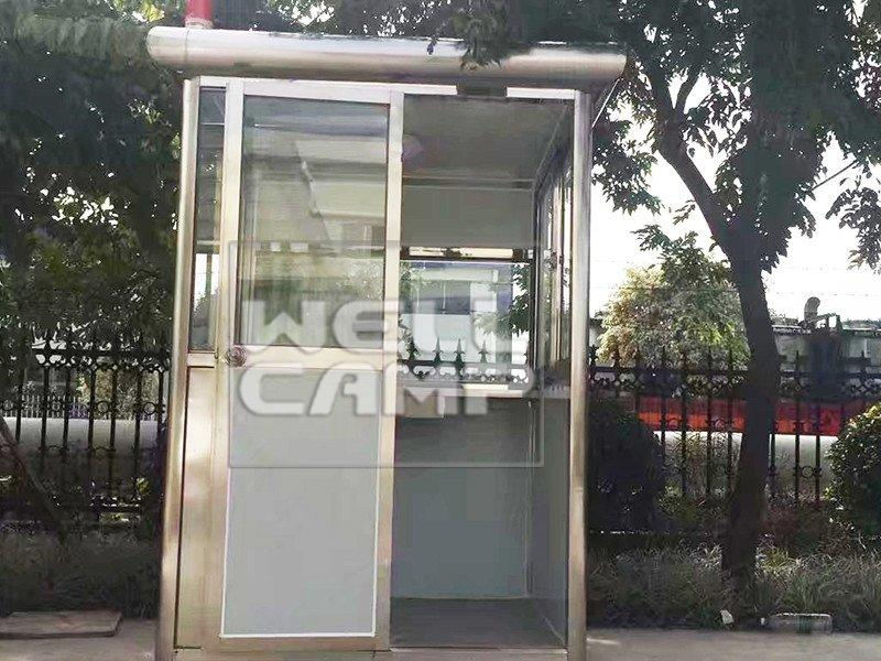 WELLCAMP Brand steel shipping kiosk security booth waterproof