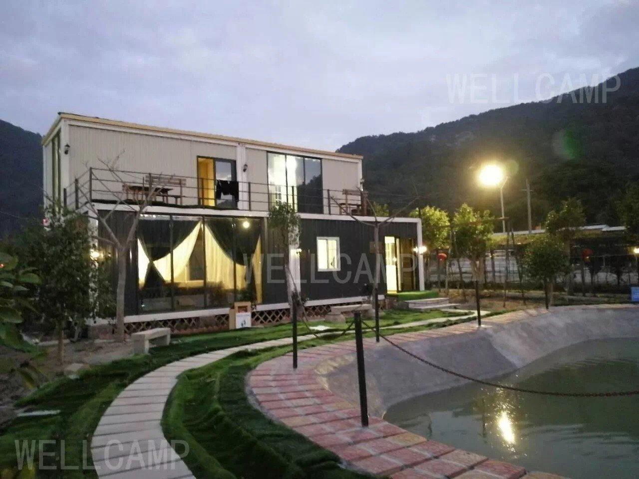 A container house&container villa resort&container hotel&container labor camp