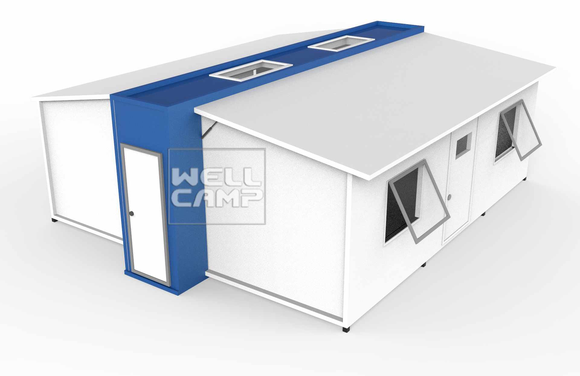 WELLCAMP Expandable Container Shelters House for Family & Student Dormitory E-01 Expandable Container House image17