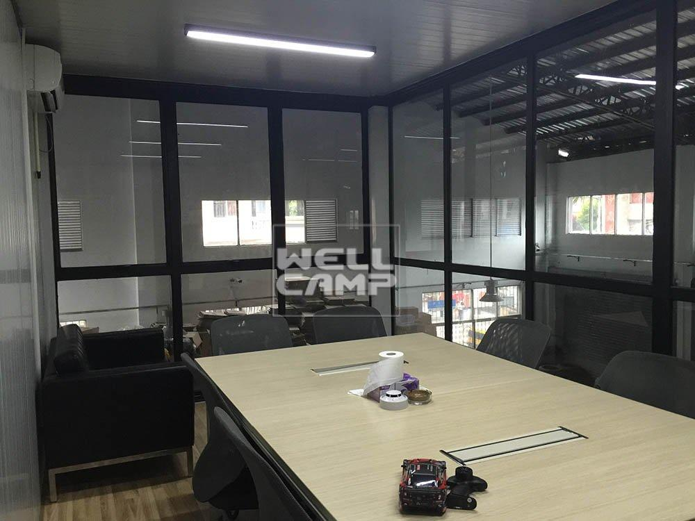 The project of detachable container office in China