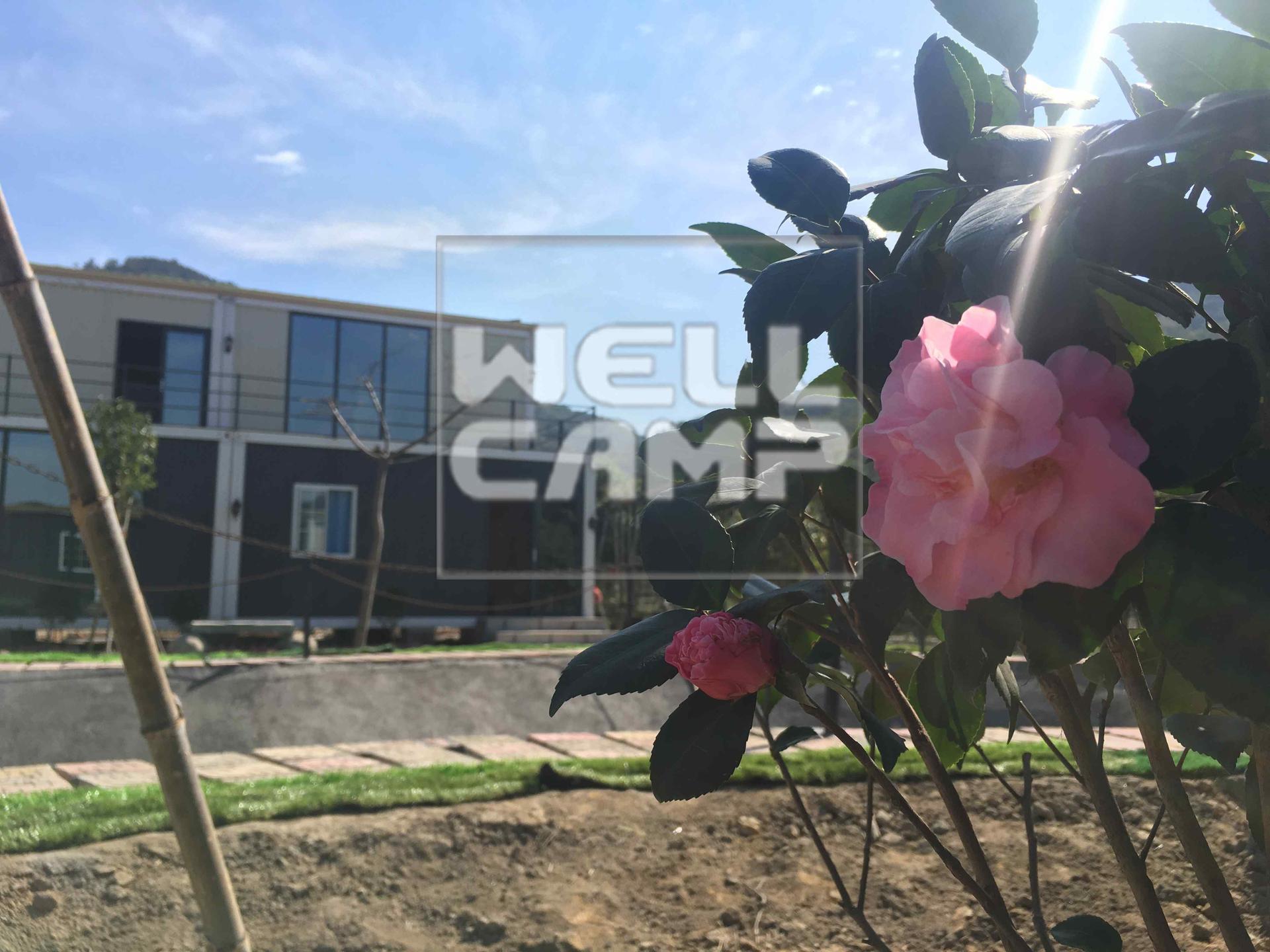 Wellcamp ripple detachable container villa for vocation village