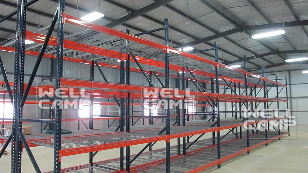 Wellcamp Sandwich Panel Steel Structure Warehouse Project In South America