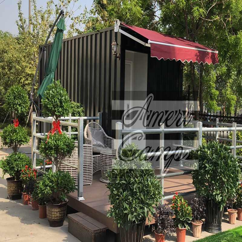 New Design Prefabricated Shipping Container Villa for Store & Shop Houses Built From Shipping Containers -S06