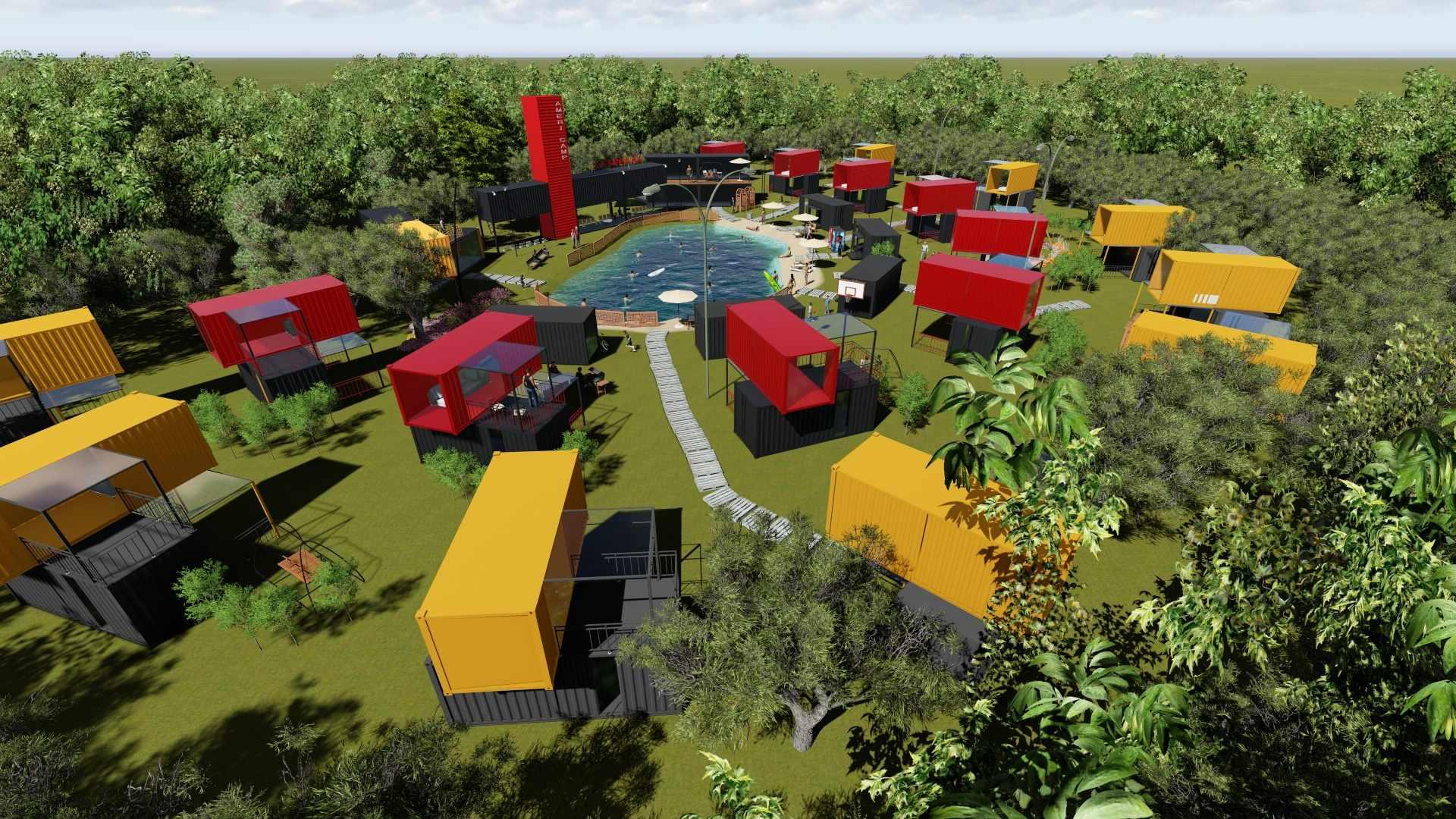 Wellcamp shipping container hotel container resort