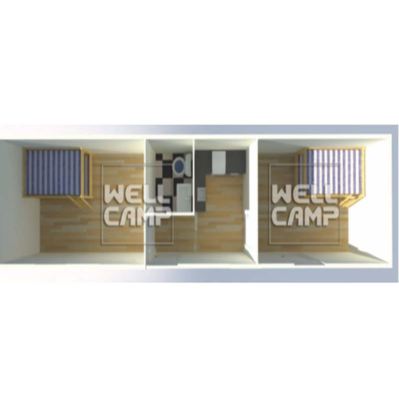 WELLCAMP Wellcamp simple Sudan house EPS sandwich panel prefab living room & office--C01 Refugee Housing image41