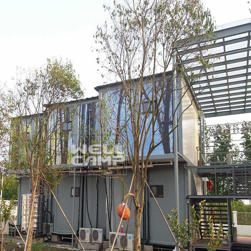 Prefab Detachable Container Hotel Accommodation Temporary Office New Manufactured Homes Buying A Prefab House -C19