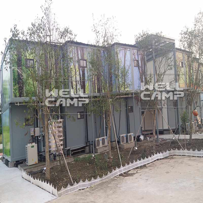WELLCAMP-Best Luxury Shipping Container Homes Prefab Detachable Container Hotel