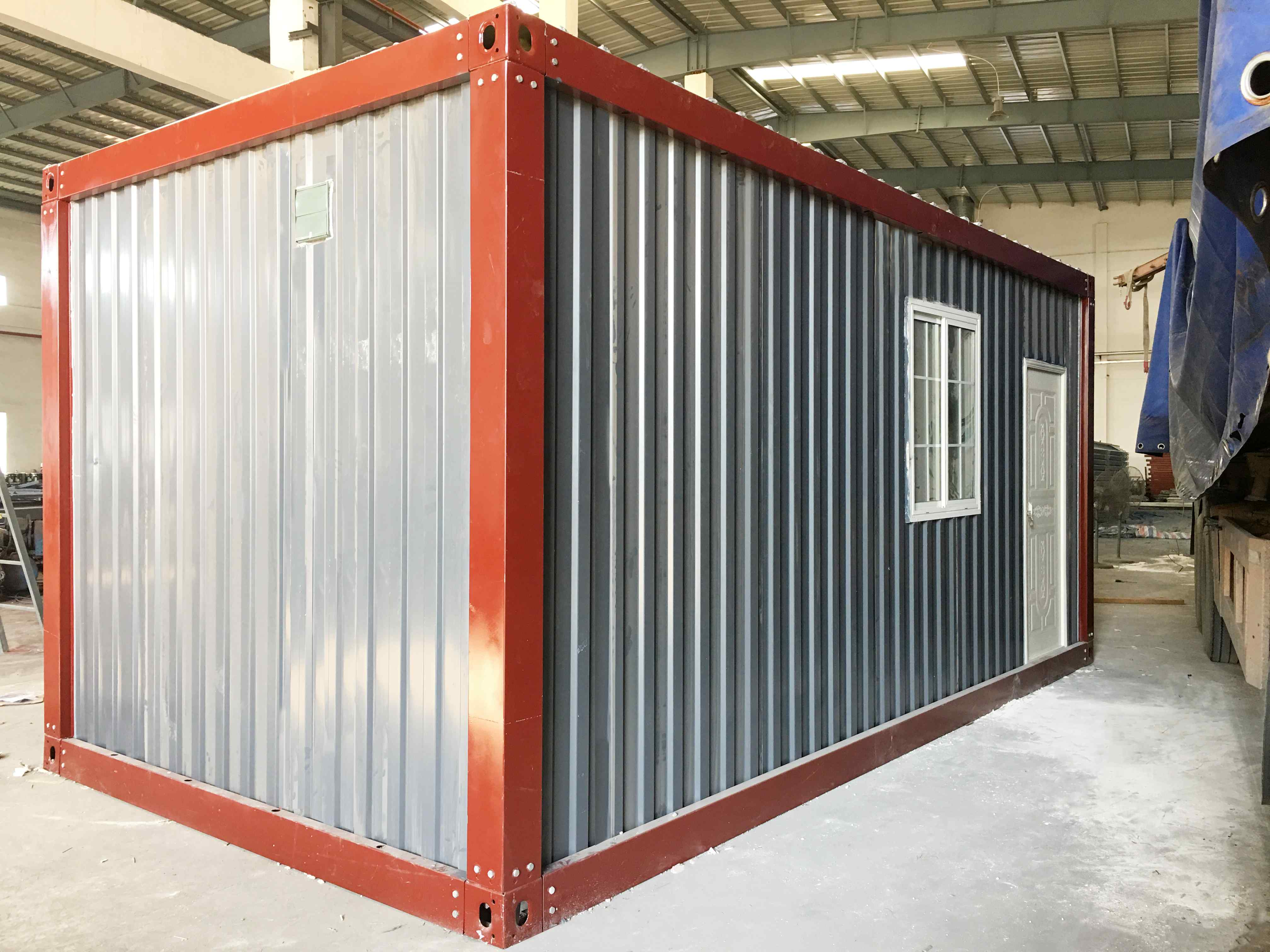 WELLCAMP Prefabricated Detachable Container House with Bathroom & Toilet -D32 Detachable Container House image7