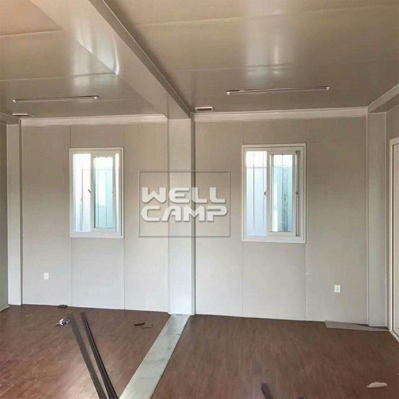 Luxury Accommodation Portable Box Structure Flat Pack Container House Manufactured Home Dealers -F21