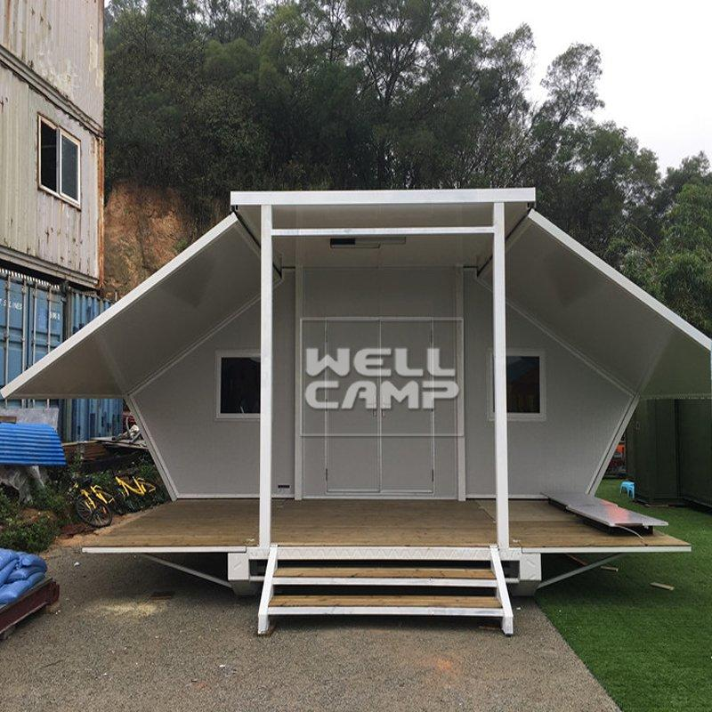 40' Expandable Container House Temporary House for Office & Wedding Room Modular House Plans With Prices- E-02