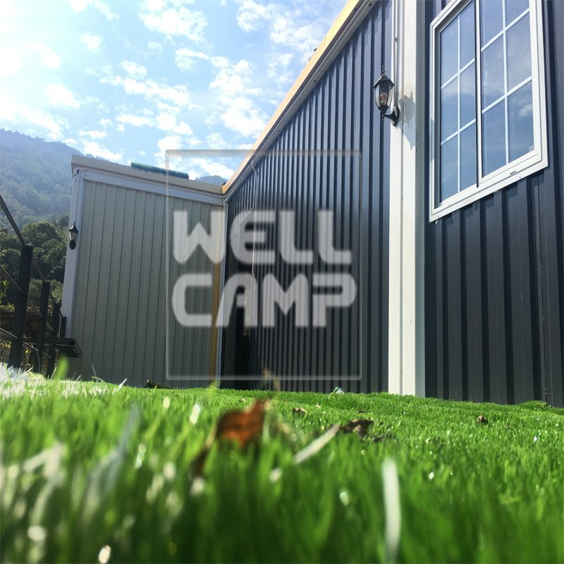 WELLCAMP-Shipping Crate House | Eco-friendly Glass Wool Panel Portable Prefab Container