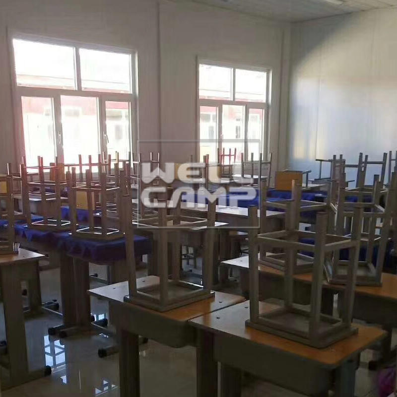 Wellcamp new style flat pack container class room waterproof and high quality portable room for students and teachers