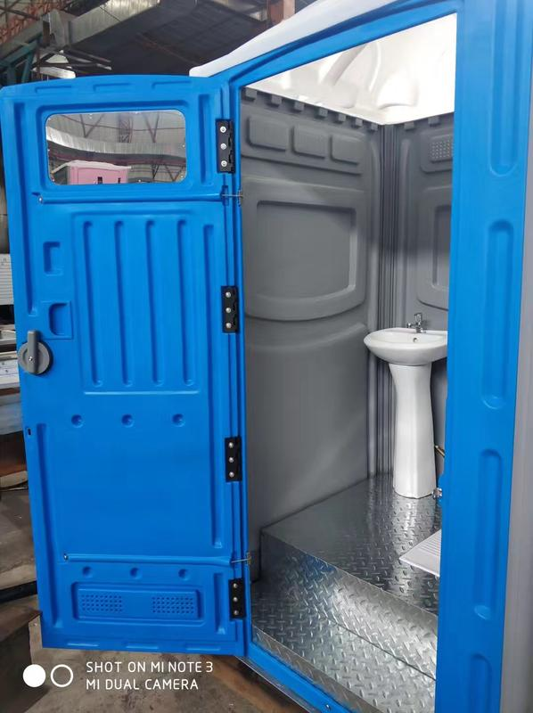 Wellcamp HDPE portable sitting and squat toilet with waste tank and water tank luxury portable toilets for sale