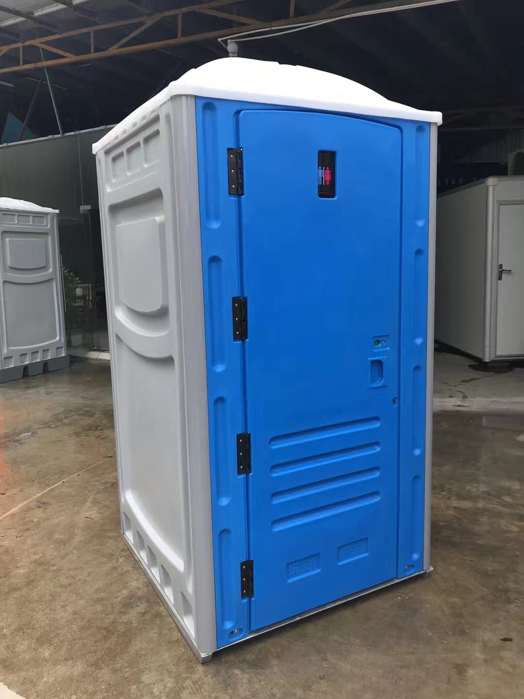 WELLCAMP Wellcamp HDPE portable sitting and squat toilet with waste tank and water tank Portable Toilet image2