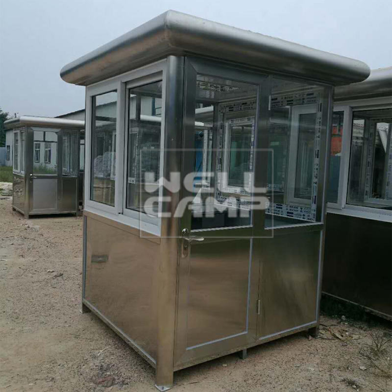 Wellcamp Stainless Steel Security Room Small Prefab House Project In Africa