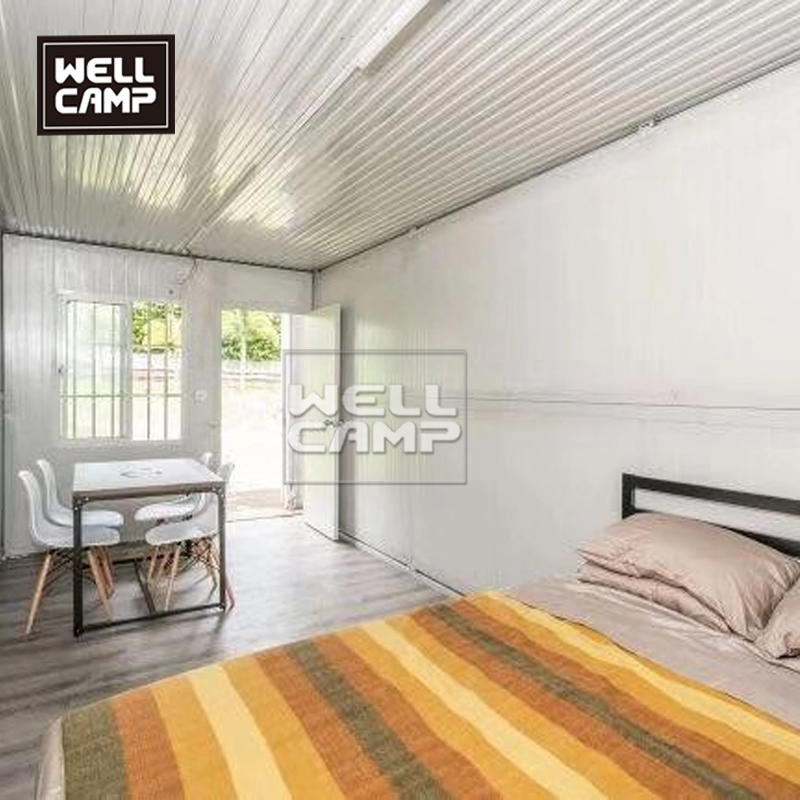 Wellcamp Folding container house and Flat pack container house in America