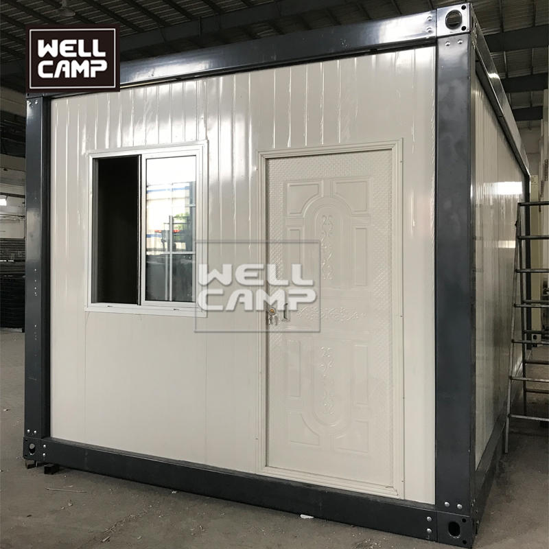 China Tiny detachable container house eco-friendly modular office storage container kits