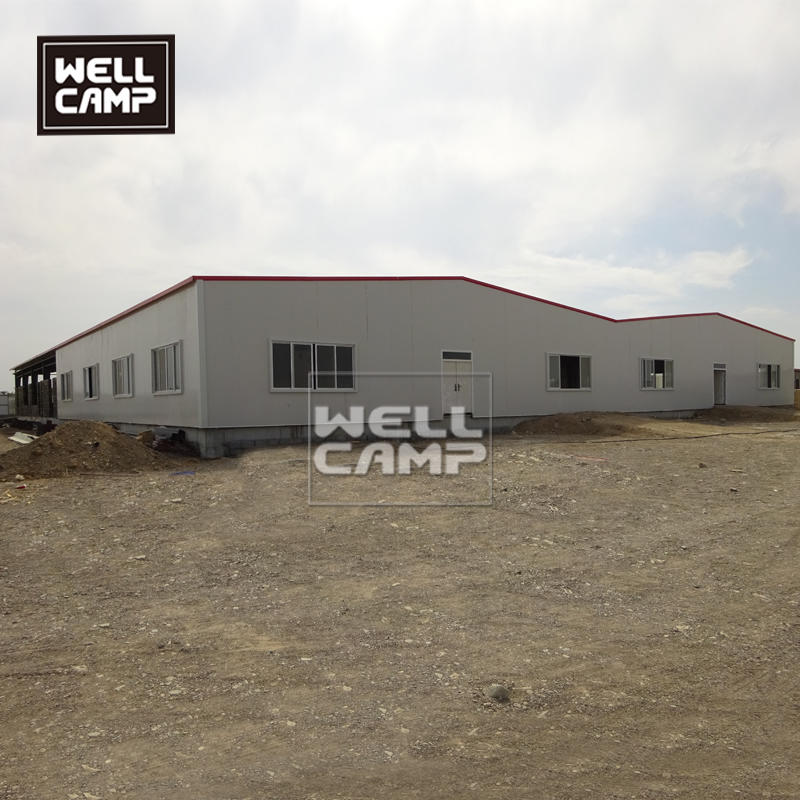 Prefab steel construction building steel frame warehouse cheap modern prefab labor camp