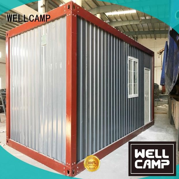 Wholesale panel prefabricated container house WELLCAMP Brand