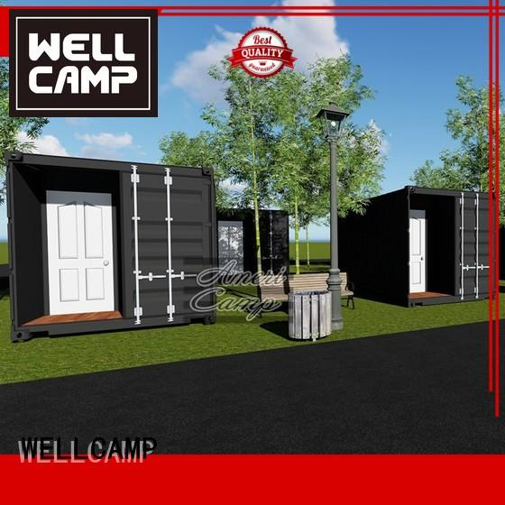 Hot living houses made out of shipping containers 20gp WELLCAMP Brand