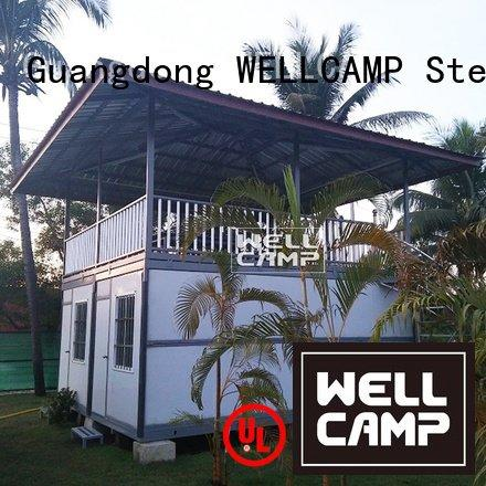 Hot custom container homes prefab three two WELLCAMP Brand