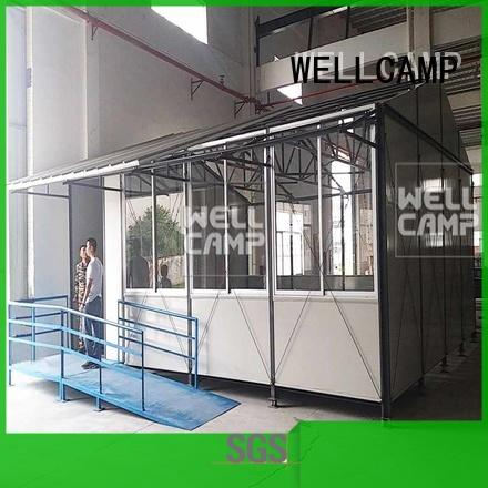 prefab classrooms WELLCAMP manufacture