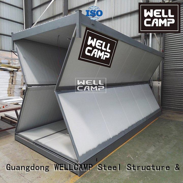 WELLCAMP foldable container house home sandwich military