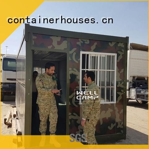 housing military f05 resort foldable container WELLCAMP