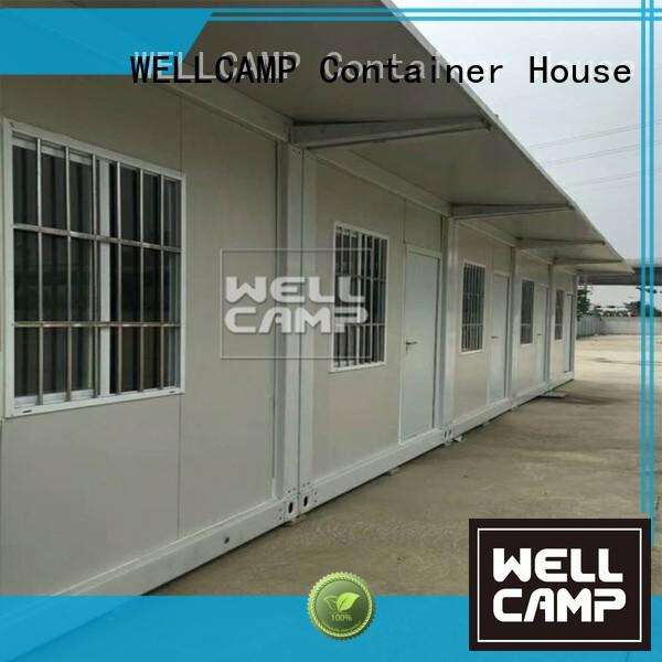 Hot glass flat pack 20 ft container easy WELLCAMP Brand