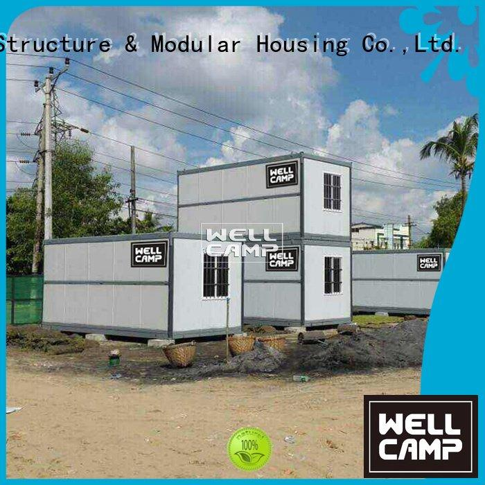 folding easy foldable container prefab WELLCAMP