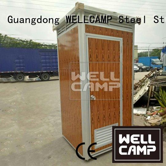 chemical portable chemical toilet rotomolding plastic WELLCAMP