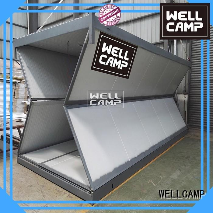 foldable container house storey holiday workshop WELLCAMP Brand foldable container