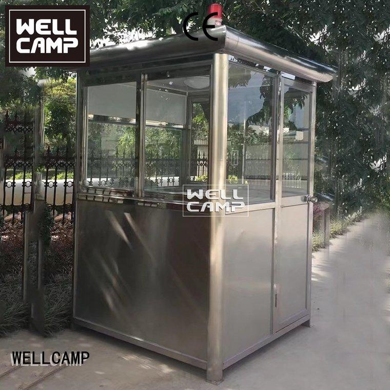 Hot security booth for sale guard security booth feet WELLCAMP