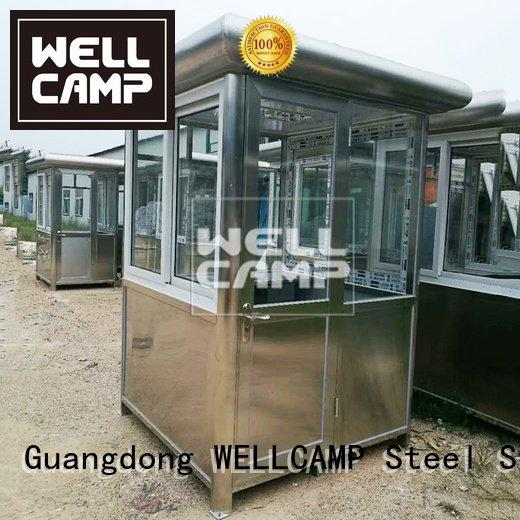 stainless mobile sentry eps WELLCAMP security booth